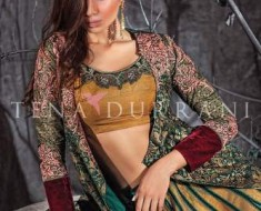 Tena Durrani latest winter shalwar kameez
