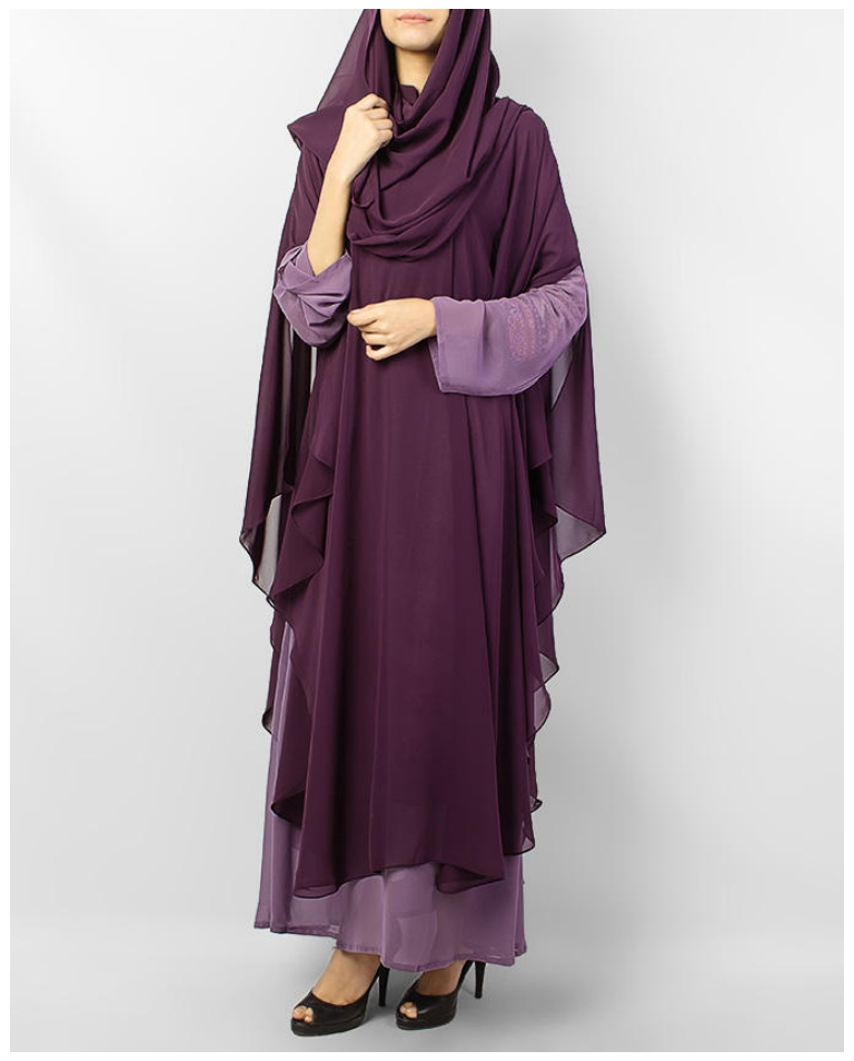 Muslim Abayas Hijabs Design For Girls