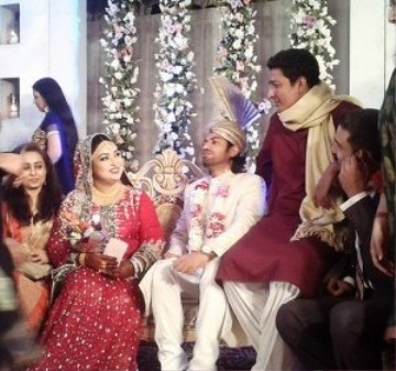 Drama Actress Uroosa Siddiqui Wedding Photos