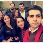 Sanam Chaudhry and Furqan Qureshi Getting in morning Show