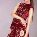Teena by Hina Butt New Party Wear Winter Dresses 2016