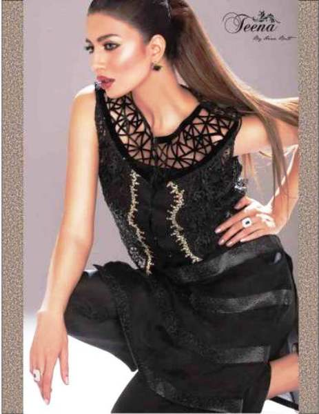Teena by Hina Butt Fancy Formal Dressses for Winter (2)