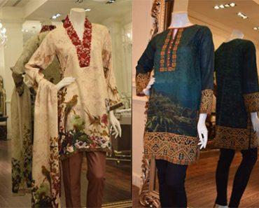 Latest Thread & Motifs Autumn Winter Ready To Wear Suits