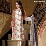 Gul Ahmad Floral Lawn Summer Collection 2016