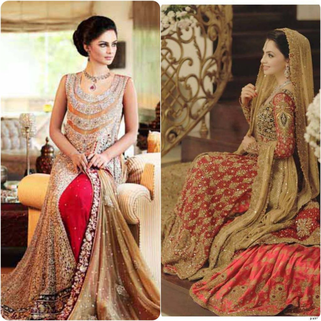 Pakistani Bridal Dresses & Lengha Designs