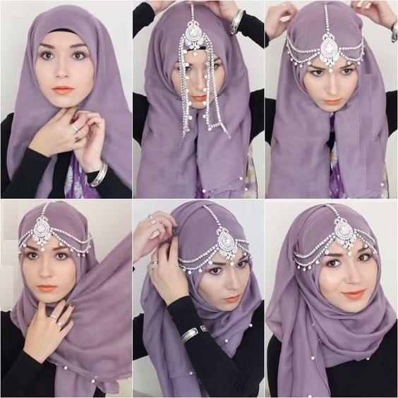 10 Stylish Ways To Wears A Scarf Hijab