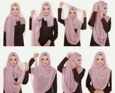 10 Stylish Ways To Wears a Scarf & Hijab