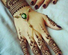Kashee's Beautiful Henna Designs For Full Hand & Bazo