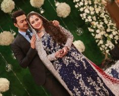 Ahmed Hassan and Nosheen Ibrahim Valima Photo Shoot