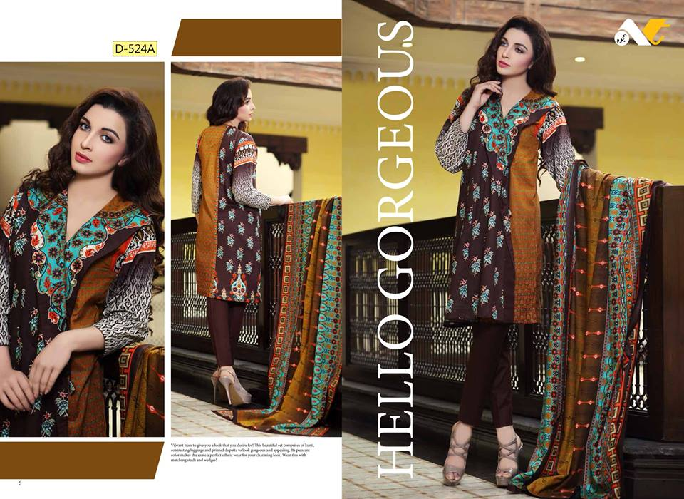 ajwa lawn spring summer collection 2016 catalog by ajwa textile. Black Bedroom Furniture Sets. Home Design Ideas