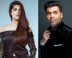 Bollywood star Karan Johar praise Sanam Saeed