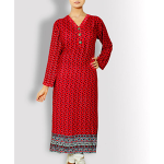 Buy Summer Stylish Floral Liza Top kurta Designs In Pakistan