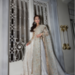 Farah Talib Aziz Latest style Bridal Lehnga Designs Pakistani Fashion
