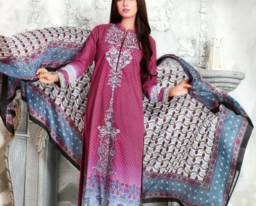 Gul Ahmad Stitched Lawn & Silk Summer Collection 2016