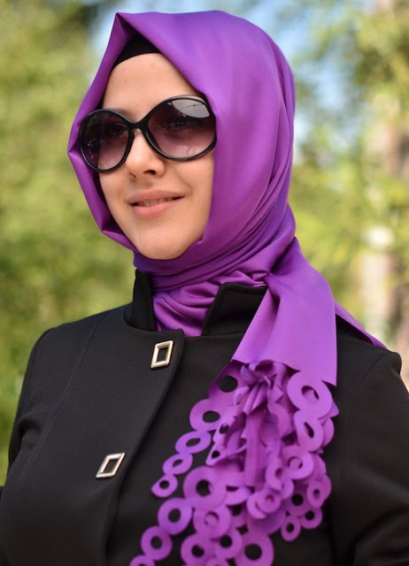 Hijab Style For Round Face With Glasses Wear Tips