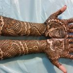 Kashee's Beautiful Henna Designs For Full Hand & Bazo