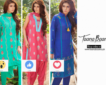 Latest Outfit Summer Collection By Taana Baana 2016
