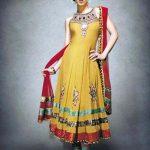 Pakistani Designer Dresses For Mehndi Function 2016
