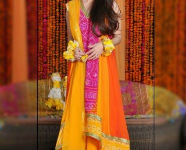 Pakistani Designer Dresses For Mehndi Function 2016