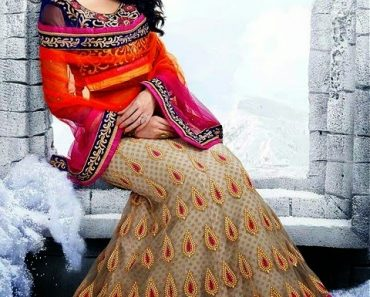 Pakistani & Indian Ghagra Choli Designs Collection For Bridal 2106