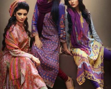 Pareesa Digital Printed 2Pcs Unstitched Lawn Collection 2016