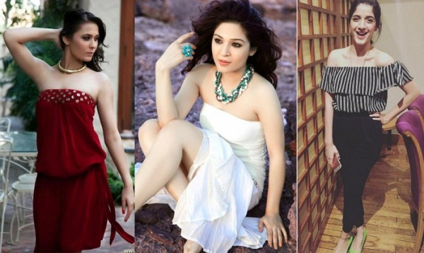 Trend show Pakistani Actresses In Strapless Fashion