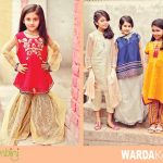 Warda kids Latest Summer Collection 2016-2017 By Jambini Catalog