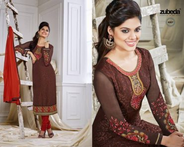 Zobi Fabrics Bridal & Party Wear Summer Collection 2016