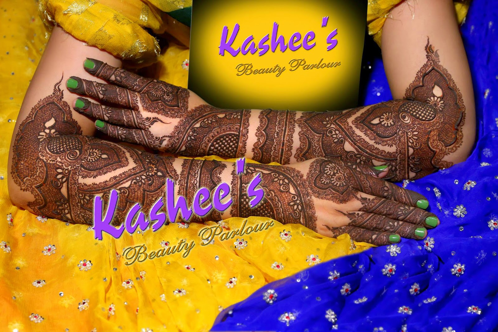 Chand raat mehndi henna designs 2014 - Kashee S Beautiful Henna Designs For Full Hand Amp Bazo