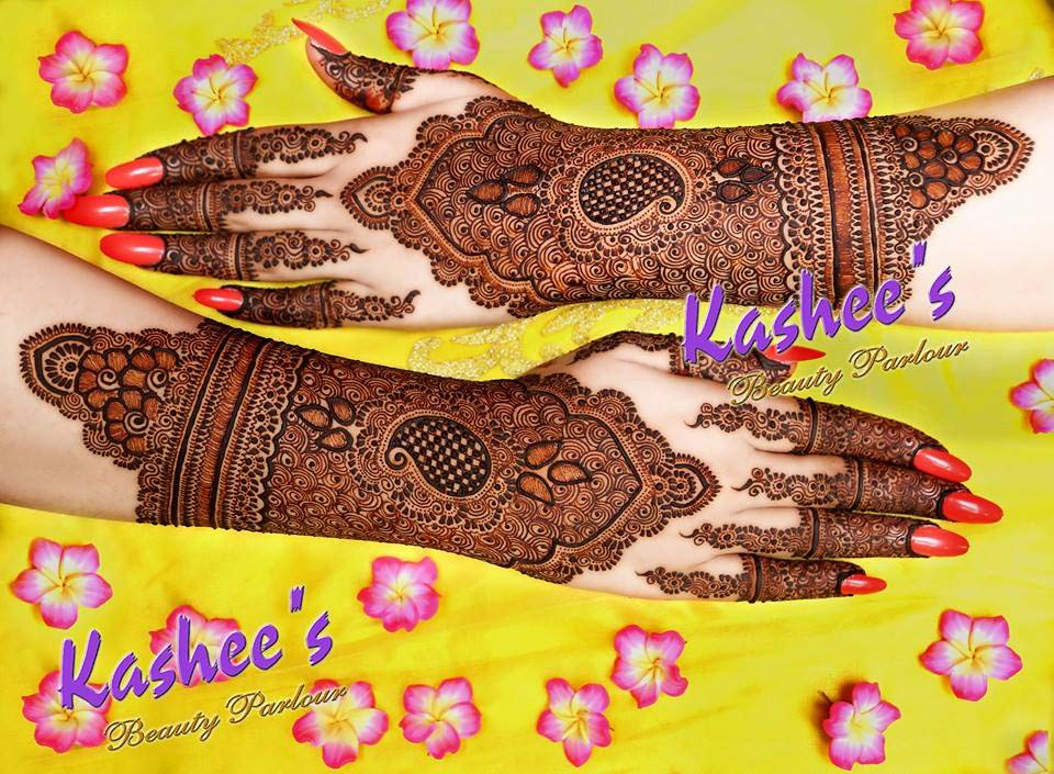 kashees Beautiful HENNA designs 2016-17 For girls