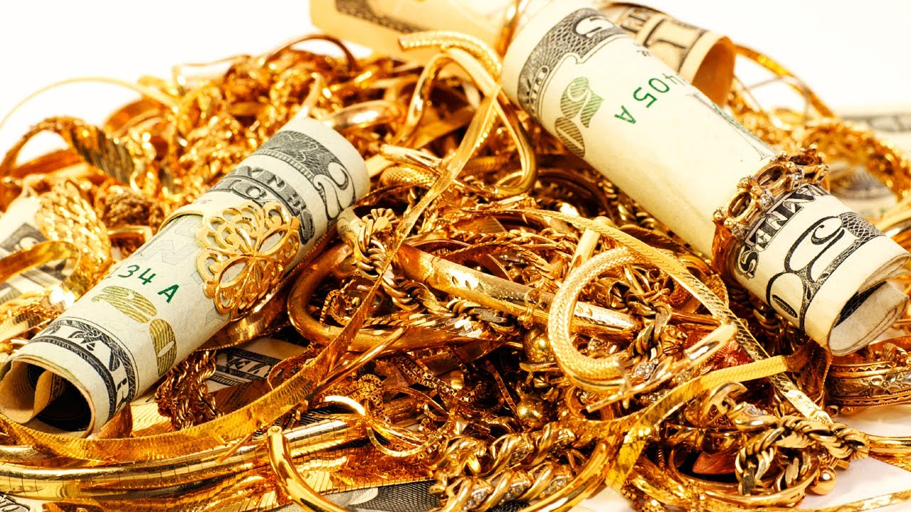 riches of gold and money