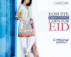Charisma Eid Collection 2016 Catalog Embroidered Lawn