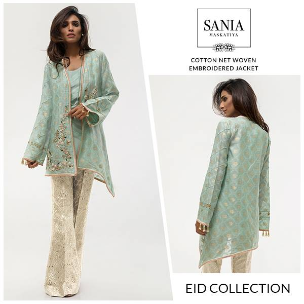 Sania Maskatiya Chiffon Eid Collection 2016 With Prices