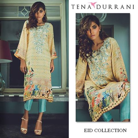 Fashion style Collection eid Hottest by tena durrani for lady