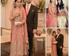 Mehvish Khan & Ayesha Adnan Eid Exhibition Bridal Wear Couture
