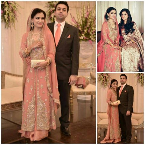 Mehvish Khan & Ayesha Adnan Eid Exhibition Bridal Wear Couture
