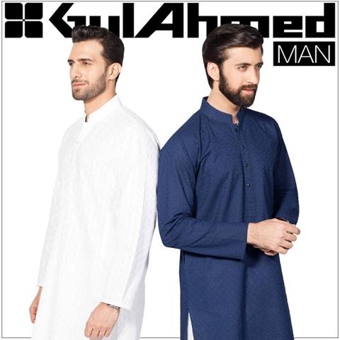 Gul Ahmad Men Kurta Eid Collection 2016
