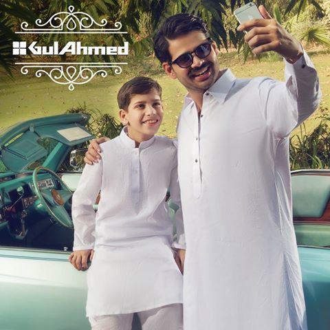 Gul Ahmad Men Kurt Eid Collection 2016