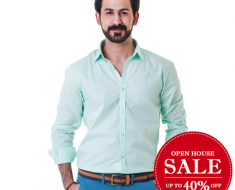 GulAhmed Man Shirts Sale OpenHouse Eid Collection