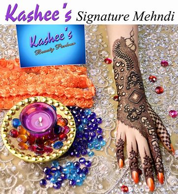 KASHEE'S SIGNATURE MEHNDI DESIGN FOR EID FESTIVAL