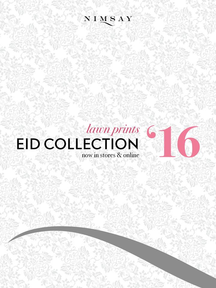 Nimsay Lawn Prints Eid Collection 2016