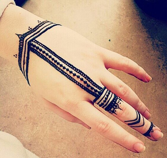 Pretty & Latest Eid Mehndi Designs 2016-2017 For Girls