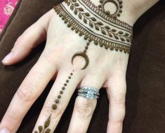 Pretty & Latest Eid Mehndi Designs 2016-2017 For Pakistani Girls