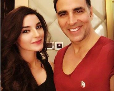 Recently Photoshoot Sadia Khan with Akshay Kumar in India