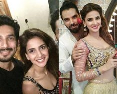 Saba Qamar with Bilal Ashraf And Yasir Hussian Photography Of Future Movie