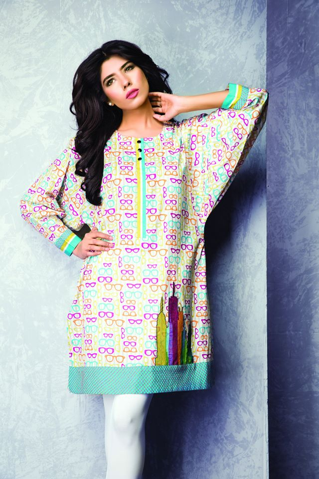 Innovative LatestPakistaniCasualDressesDesigns2016ForWomen0016