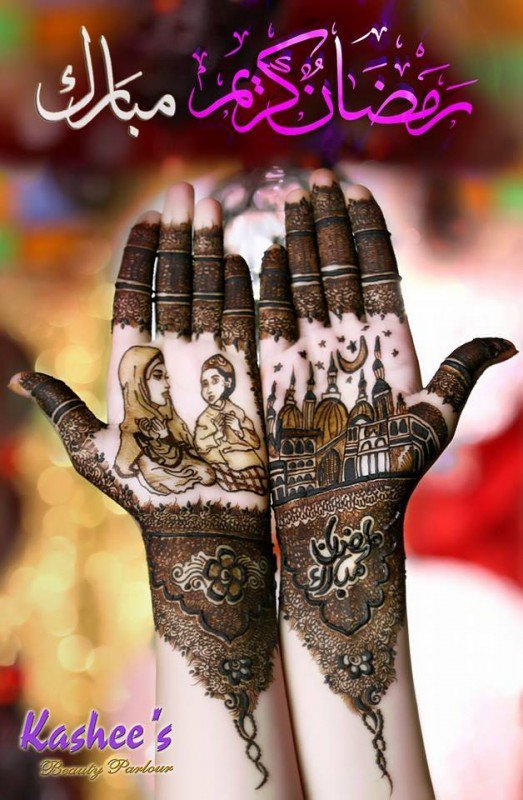 30+ Latest Mehndi Designs For Eid-ul-FItar 2016