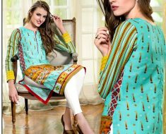 Gul Ahmed Lawn Summer Collection 2016 Printed Monochrome