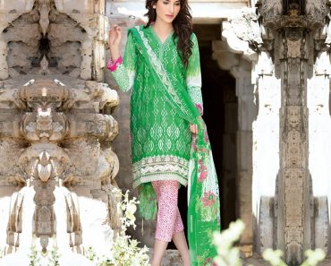 GulAhmad Lawn Summer 2016 Embroidered Chiffon Collection