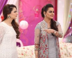 Javeria Abbasi Return Nida Yasir in Good Morning Show Pakistan
